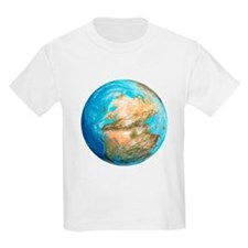 Pangea supercontinent, artwork - T-Shirt
