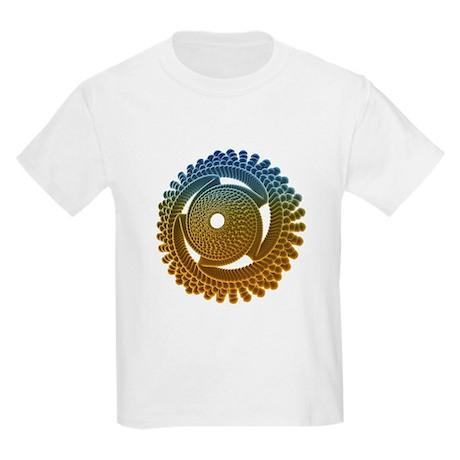 Nano turbine - Kids Light T-Shirt