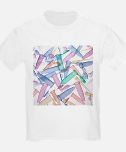 Pipette tips and sample tubes - T-Shirt