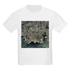 Plymouth, UK, aerial image - T-Shirt