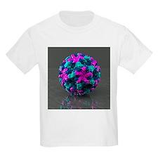Norwalk virus, artwork - T-Shirt