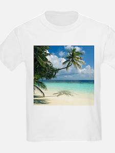 Tropical beach - T-Shirt