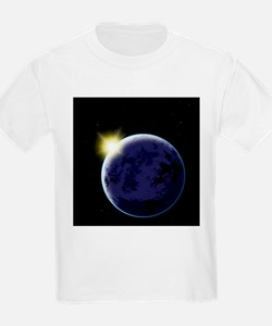 Sunset from space - T-Shirt