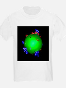 Supernova explosion, 3D simulation - T-Shirt