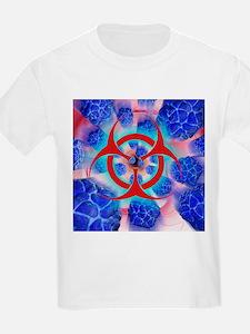Viral pathogens, conceptual artwork - T-Shirt
