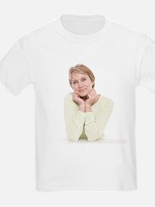 Smiling senior woman - T-Shirt