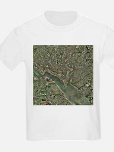 Southampton, UK, aerial photograph - T-Shirt