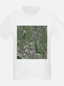 Southampton,UK, aerial image - T-Shirt