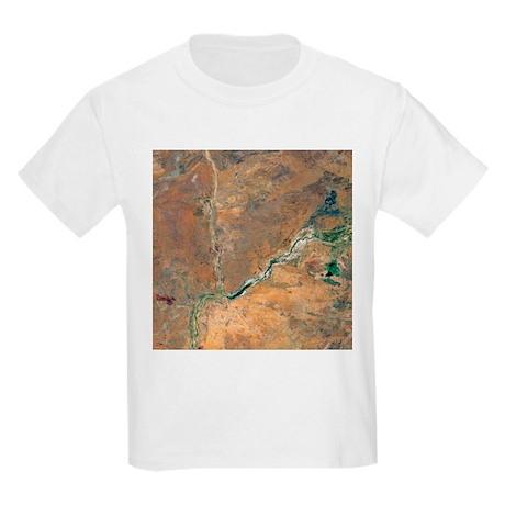Wolfe Creek Crater, Australia - Kids Light T-Shirt