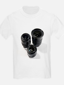 Camera lenses - T-Shirt