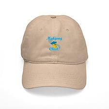 Mahjong Chick #3 Baseball Cap