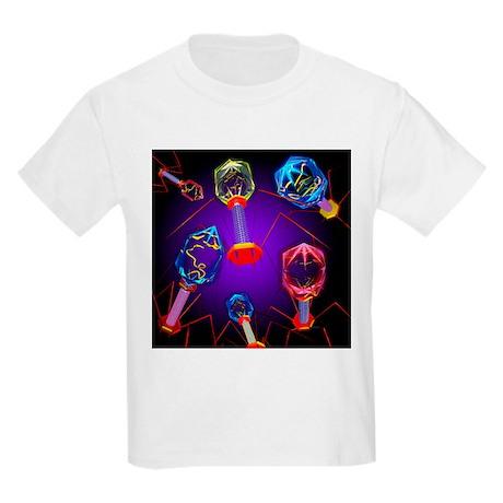 Bacteriophages - Kids Light T-Shirt