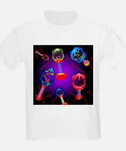Bacteriophages - T-Shirt