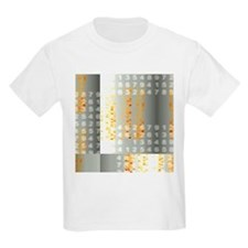 DNA autoradiograms and numbers - T-Shirt