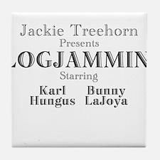 Log Jammin Tile Coaster