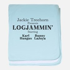 Log Jammin baby blanket