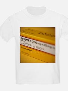 Sinemet Parkinson's disease drug - T-Shirt