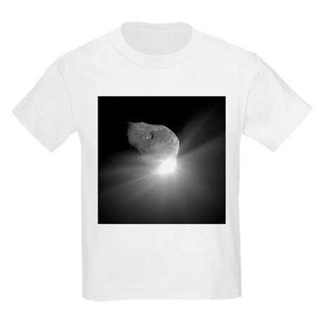 Deep Impact comet strike - Kids Light T-Shirt