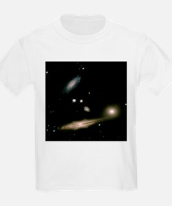 Galaxies in Hickson Compact Group 87 - T-Shirt