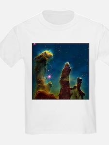 Gas pillars in the Eagle Nebula - T-Shirt