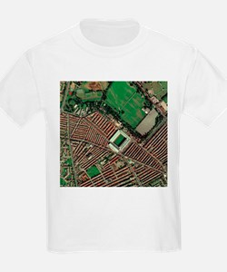 Liverpool's Anfield Stadium, aerial view - T-Shirt