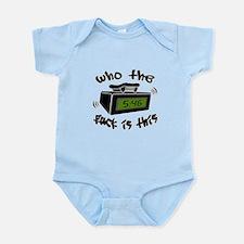 Page Me Infant Bodysuit