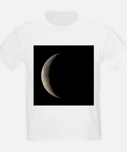 Waning crescent Moon - T-Shirt