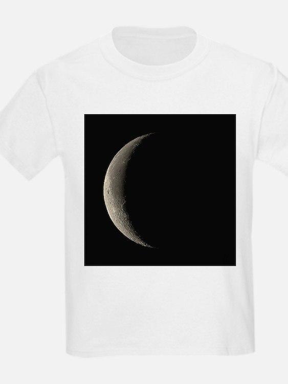 Waning crescent Moon - T-Shirt