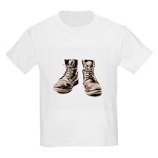 Worker's boots - T-Shirt