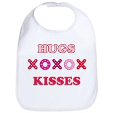 Hugs Kisses Bib
