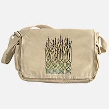 Celtic Bullrushes Messenger Bag