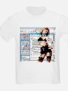 Internet pornography, conceptual artwork - T-Shirt
