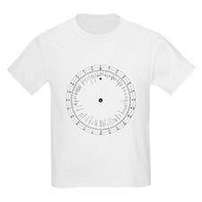 Time zones wheel, 19th century - T-Shirt