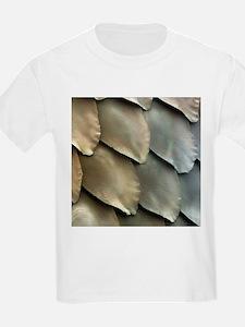 Salmon scales, SEM - T-Shirt