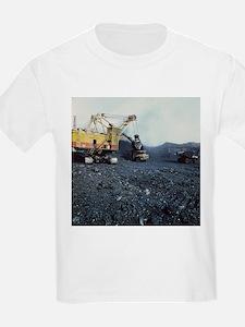 Open cast coal mining - T-Shirt