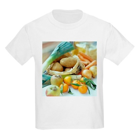 Organic fruits and vegetables - Kids Light T-Shirt