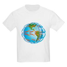 Global air circulation - T-Shirt