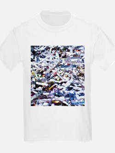 Shredded documents - T-Shirt