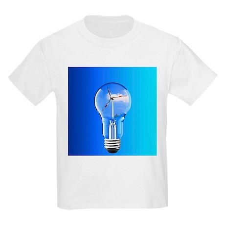Wind power, conceptual image - Kids Light T-Shirt