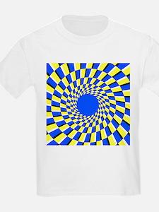 Peripheral drift illusion - T-Shirt