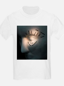 Phrenology head - T-Shirt