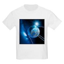 Sputnik 1 satellite - T-Shirt