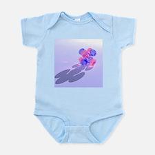 5fxyz electron orbital - Infant Bodysuit