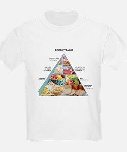 Food pyramid - T-Shirt
