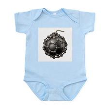 Buckyball bomb, conceptual artwork - Infant Bodysu