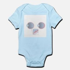 Detached retina, artwork - Infant Bodysuit