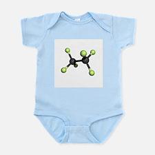 Hexafluoroethane molecule - Infant Bodysuit