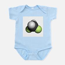Difluoromethane molecule - Infant Bodysuit