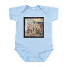 Forge of Hephaistos, Roman fresco - Infant Bodysui