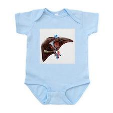 Liver anatomy, artwork - Infant Bodysuit